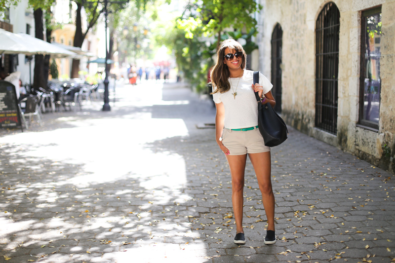 Wearing comfy shorts and a bar iii top see below to shop the look