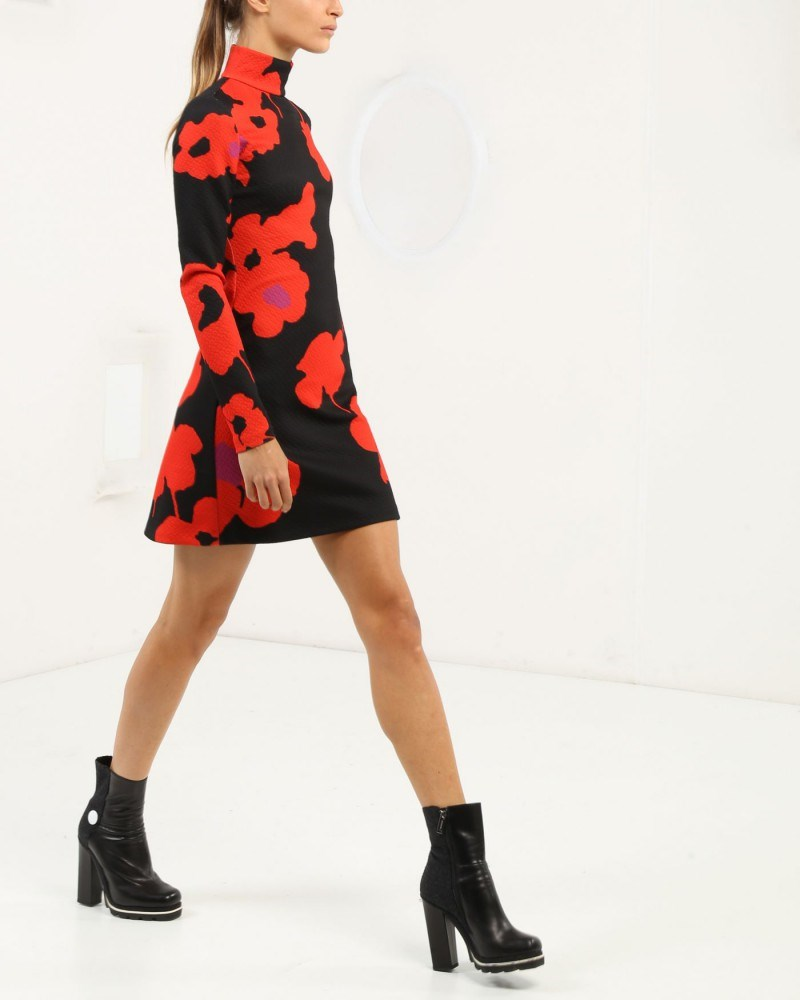 Minidress with floral print by Iceberg