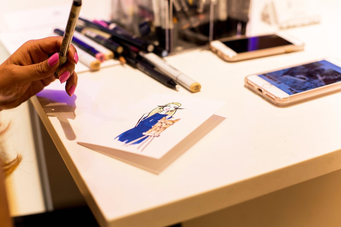 TAOS-Illustration-Live-drawing-Kendra-Scott