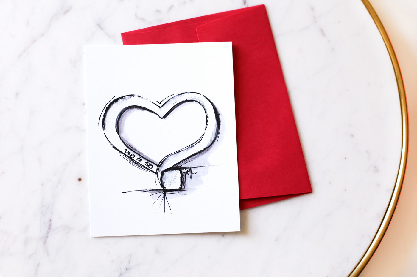 Uno de 50 Heart