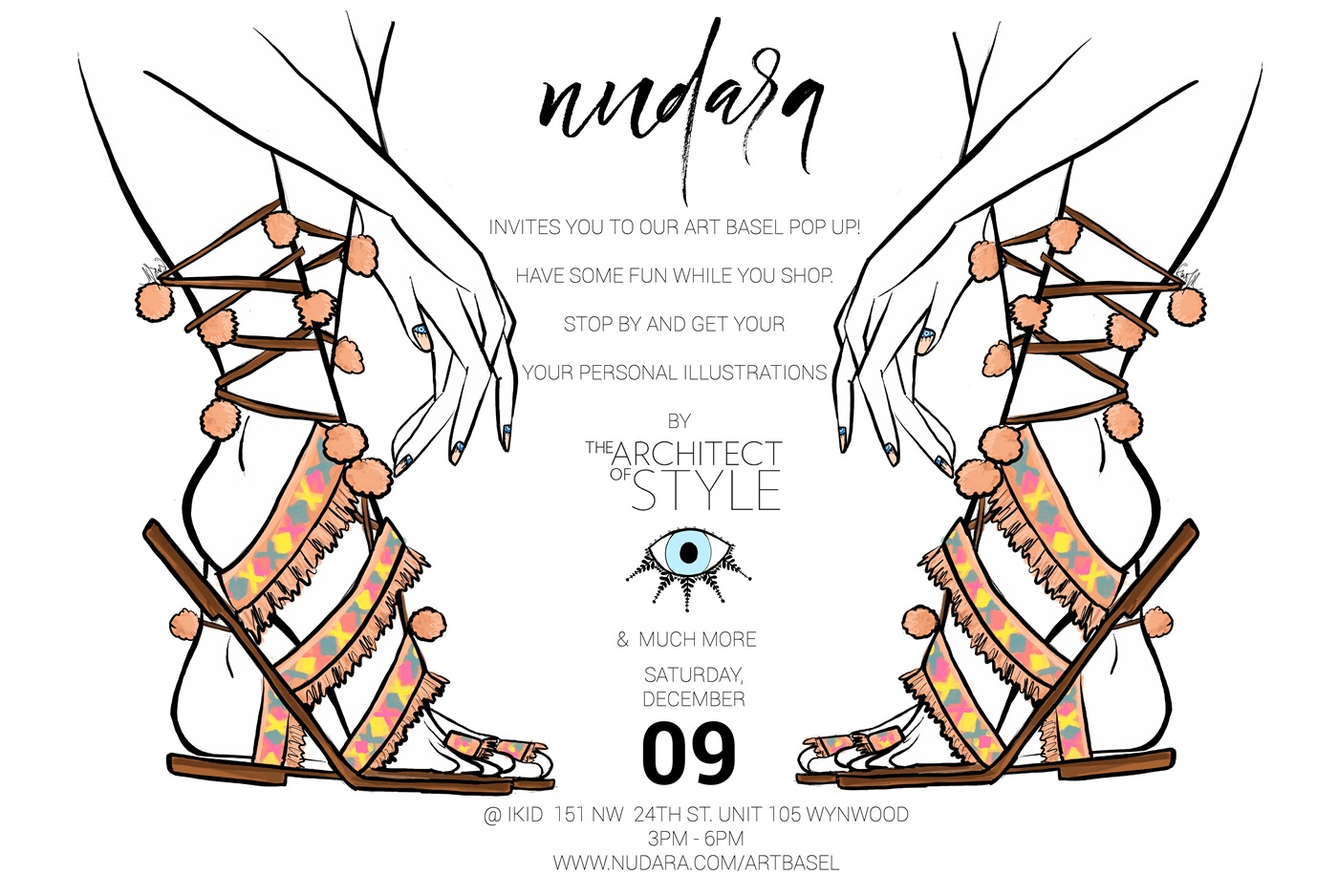 Nudara Art Basel The Architect of Style