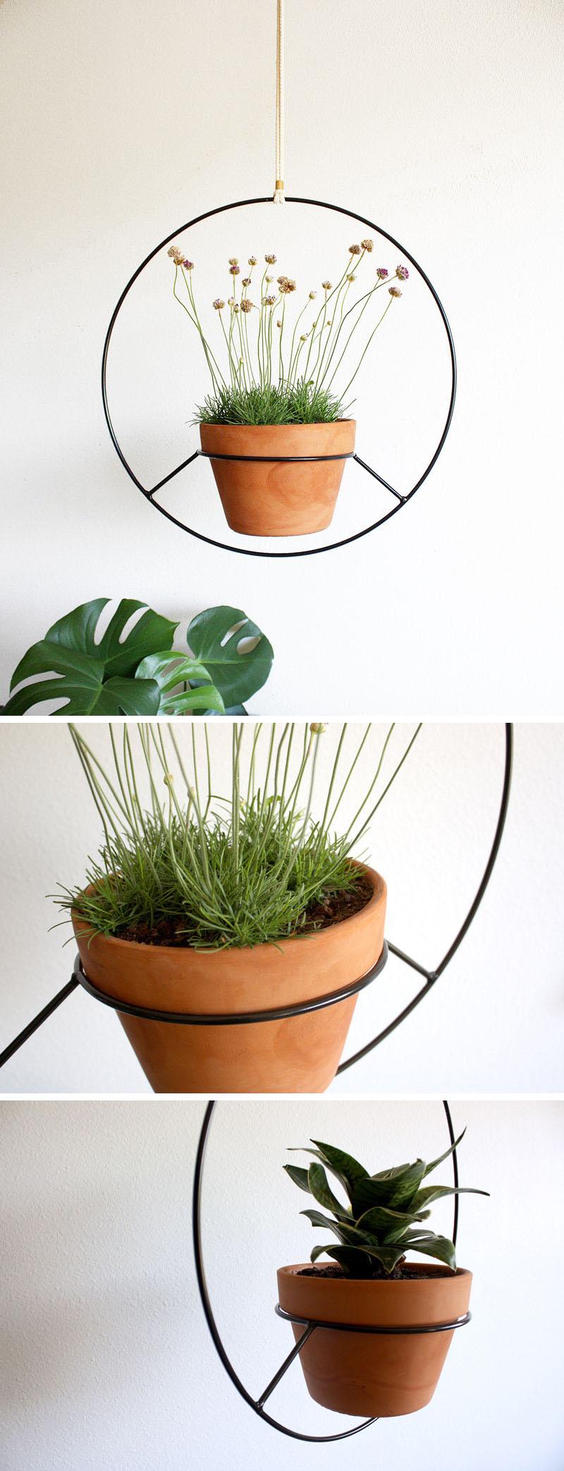 53 Indoor Garden Idea - Hang Your Plants From The Ceiling ... on Hanging Plant Pots Indoor  id=28093