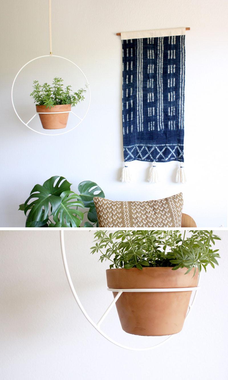 53 Indoor Garden Idea - Hang Your Plants From The Ceiling ... on Hanging Plant Pots Indoor  id=98541
