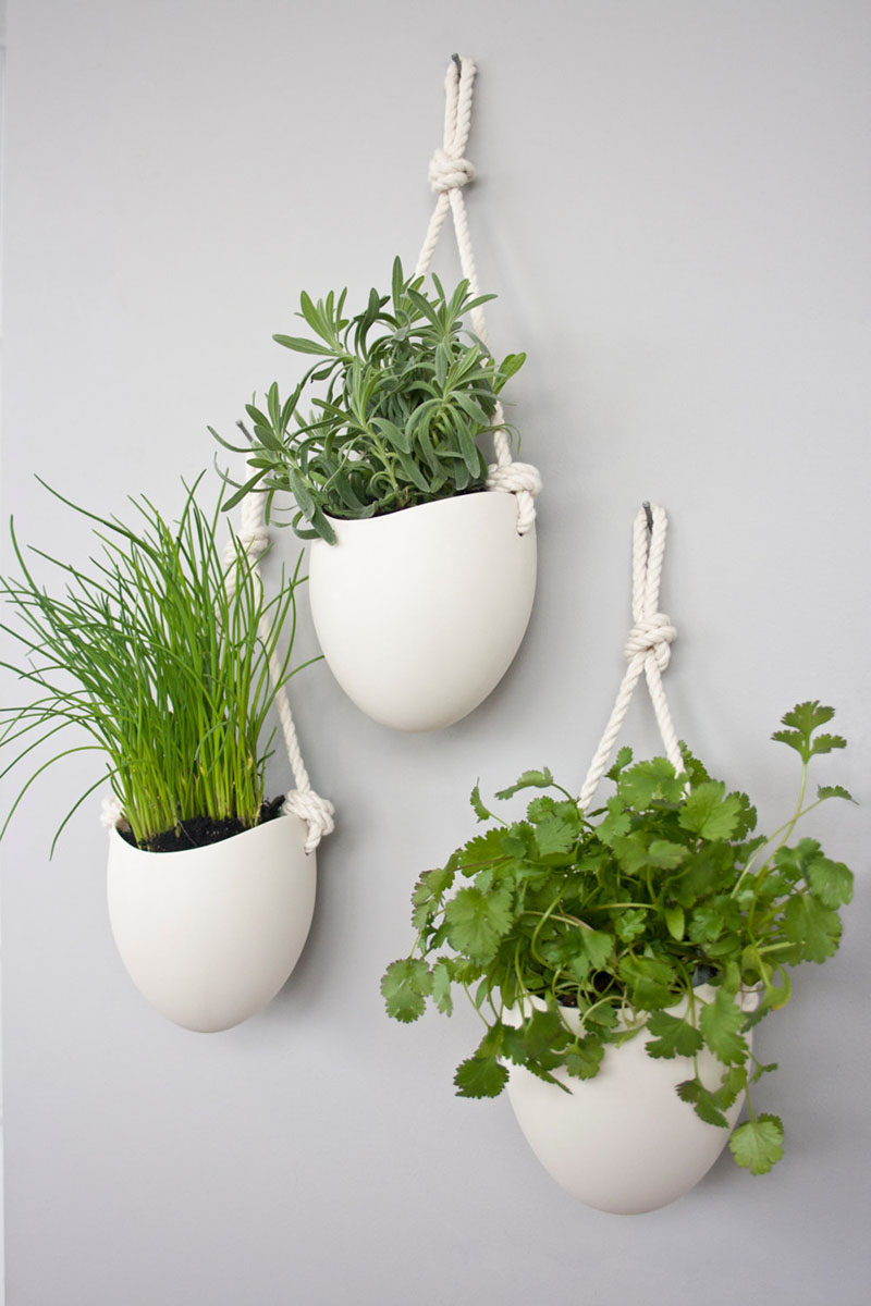 53 Indoor Garden Idea - Hang Your Plants From The Ceiling ... on Hanging Plant Pots Indoor  id=59247