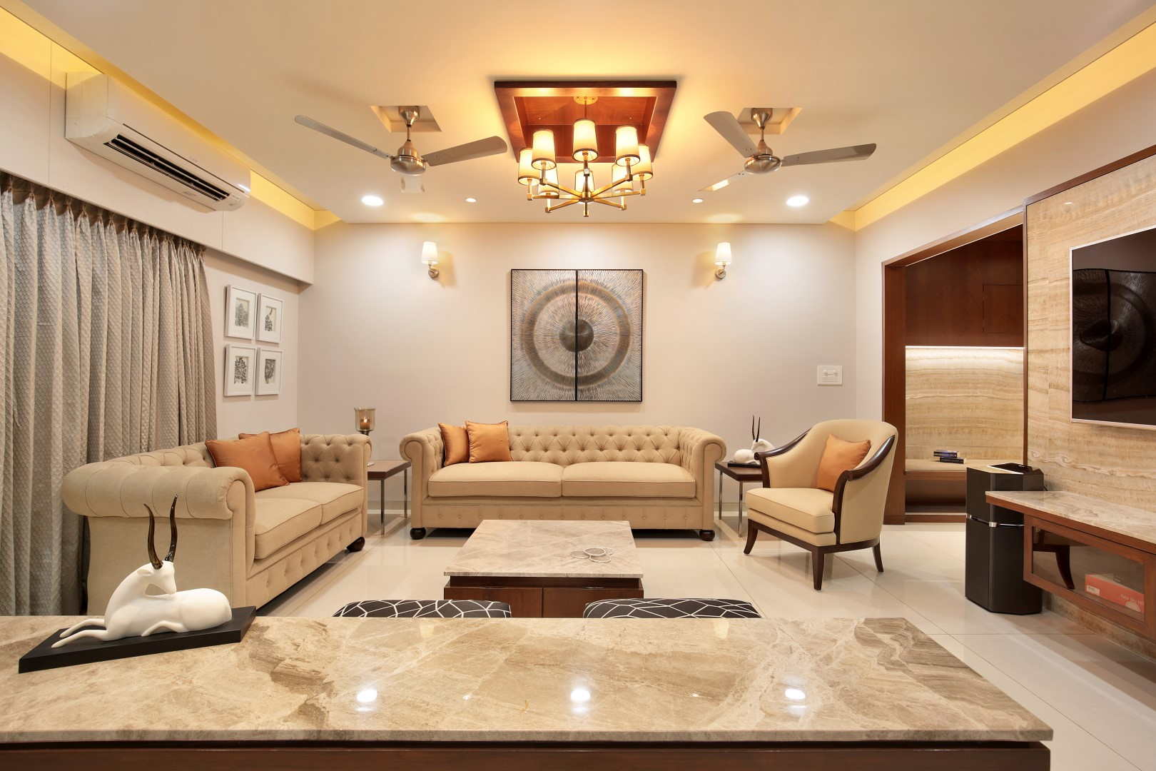 Furniture Design 1bhk Flat