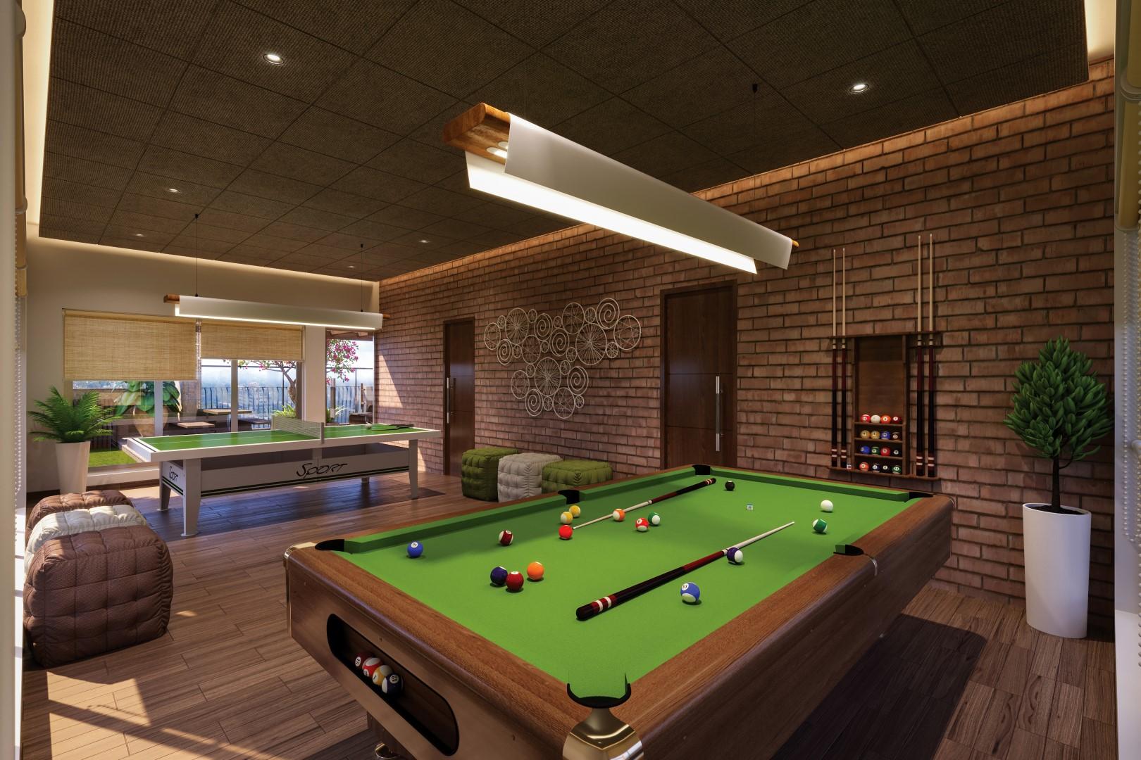 Game Room Interiors
