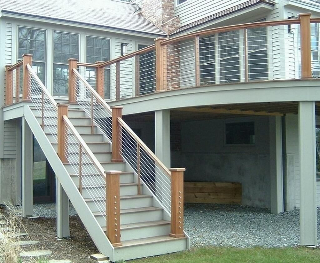 25 Best Outdoor Stairs Design Ideas Of 2020 - Modern ... on Backyard Stairs Design id=60274
