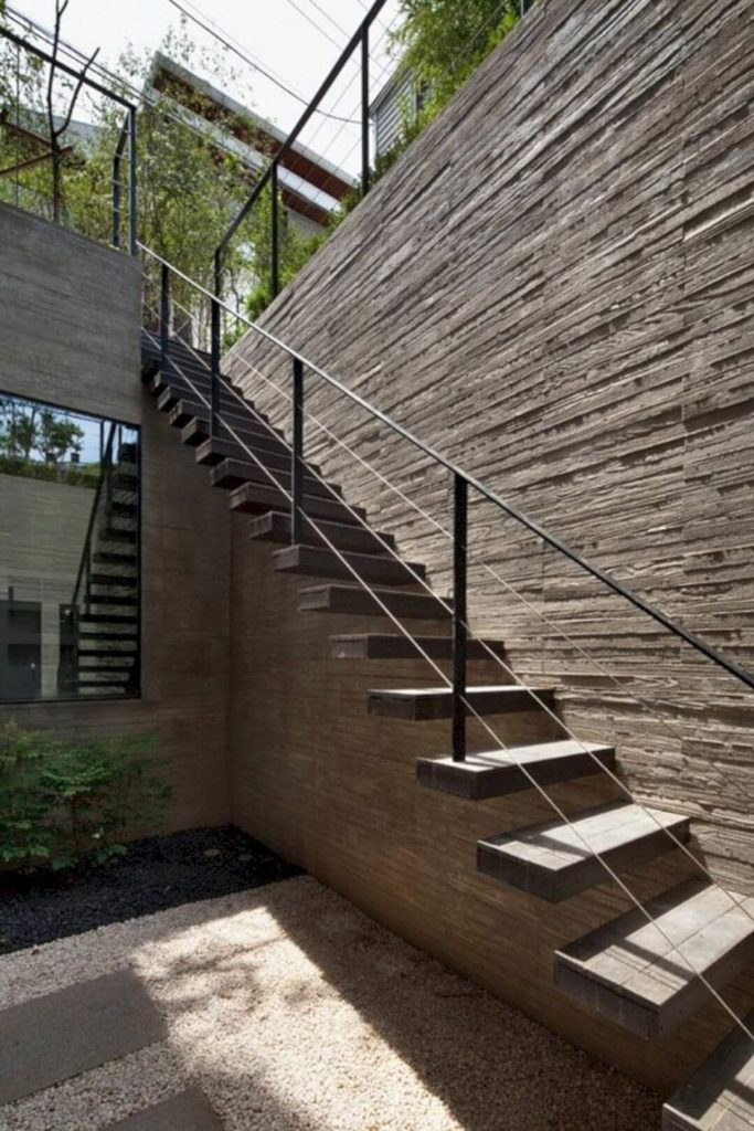 25 Best Outdoor Stairs Design Ideas Of 2020 - Modern ... on Backyard Stairs Design id=27871