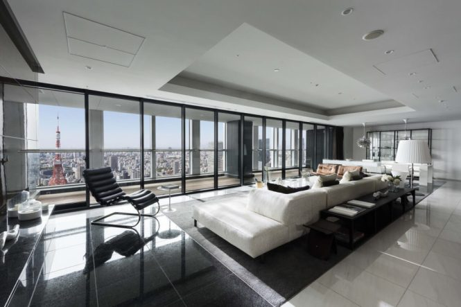 12 Luxury Apartments In Tokyo With
