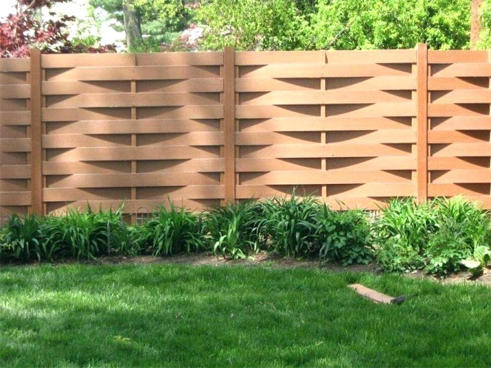 25 Privacy Fence Ideas For Backyard - Modern Fence Designs on Decorations For Privacy Fence id=25825