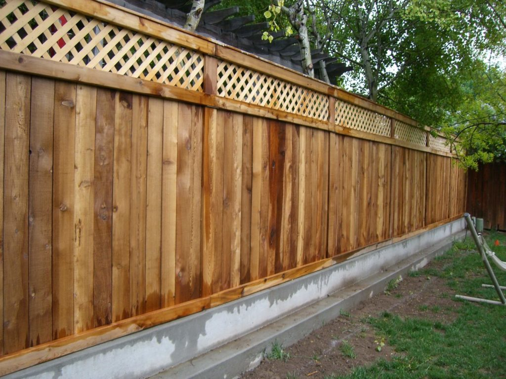 25 Privacy Fence Ideas For Backyard - Modern Fence Designs on Decorations For Privacy Fence id=21524