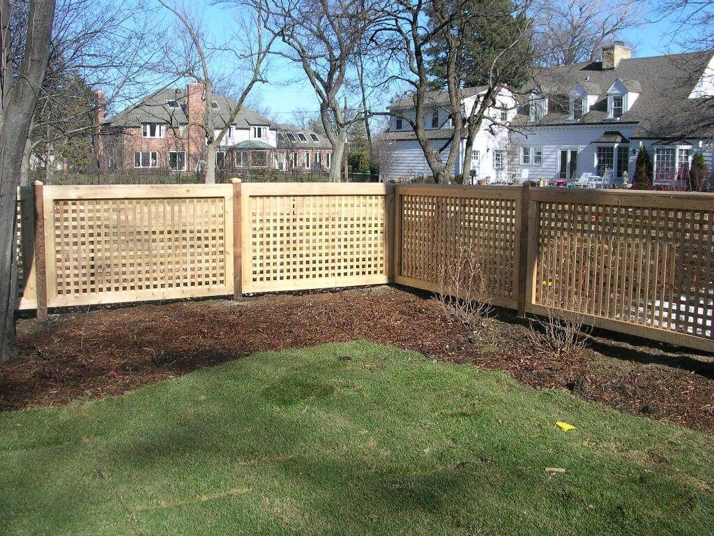25 Privacy Fence Ideas For Backyard - Modern Fence Designs on Decorations For Privacy Fence id=19851