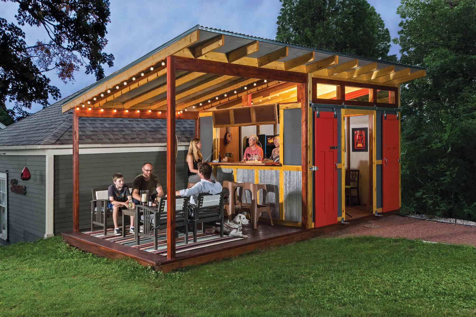 Inspiring and Smart Outdoor Bar Design Ideas - The ... on Backyard Lounge Area Ideas id=14483