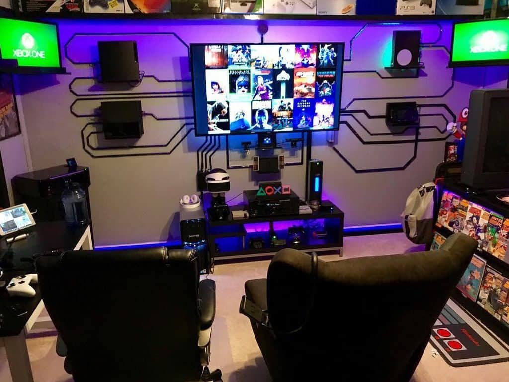 To create a space in your home for your teens to get away with their friends, start with a list of game room ideas. Best Home Gaming Room Setup Design Ideas