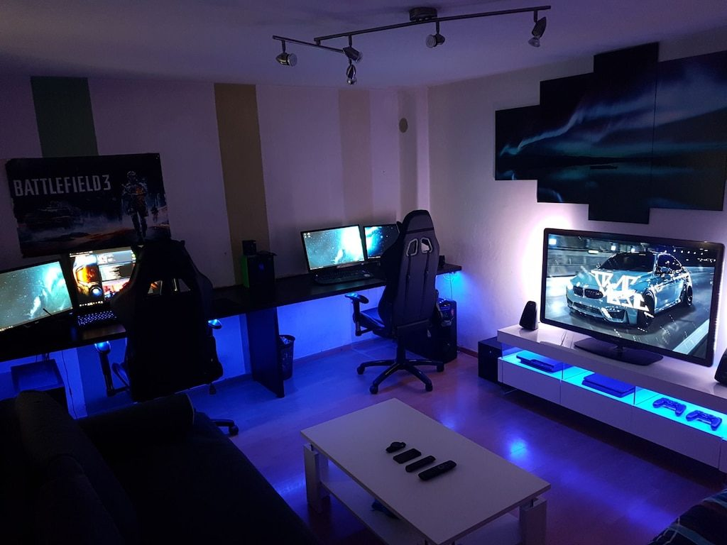 Check out the best in room by room home design with articles like how to make a small bathroom look bigger, things you can turn bunk beds into, & more! Best Home Gaming Room Setup Design Ideas