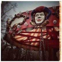 Merry-Go-Round Detail: The Joker