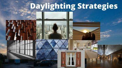 Arch Space Daylighting Strategies