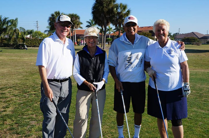 2017 ARCHway March 18th Golf - Mark _ Karenanne Fitzsimmons and Jag _ Monika Tandon