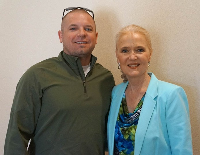 2017 ARCHway March 20th Seminar - ARCHway President John Stuckey with Annette Franks