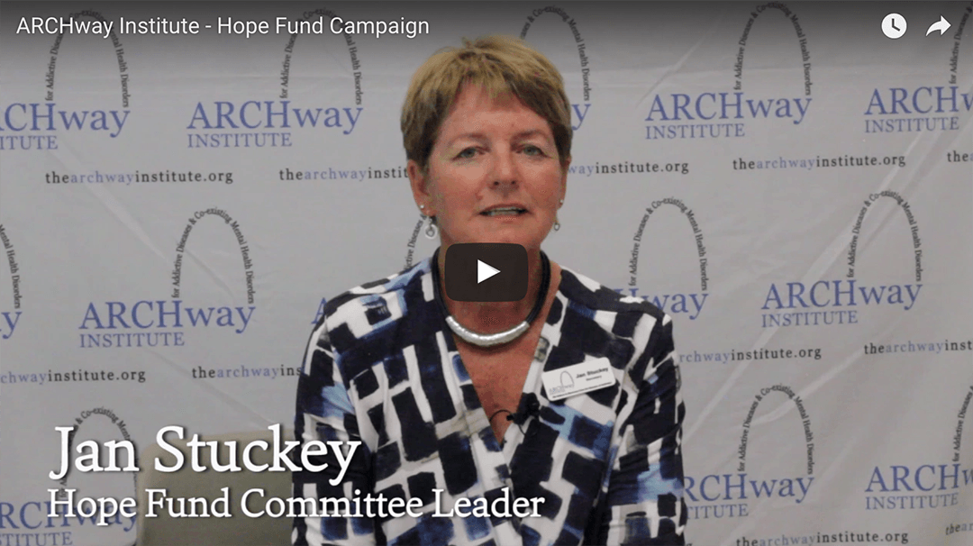 ARCHway Institute Launches 2017 Hope Fund Campaign
