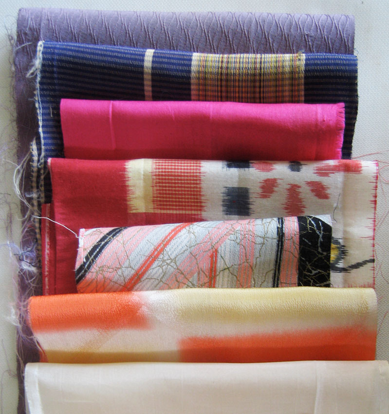 kimono fabric assortment #2