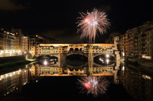Ponte Vecchio and the River Arno