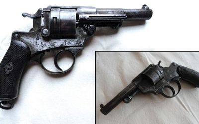 The MLE 1873 French Service Revolver