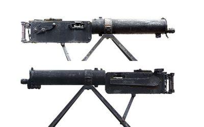 Weird Gun Wednesday: MG 08 Machine Gun