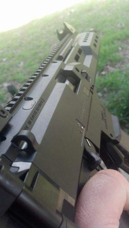 Scorpion side profile
