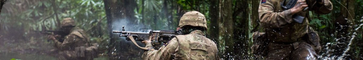 RSM Common Sense title - soldiers in the jungle