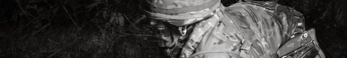 A Soldier bayonet fighting past the stress point