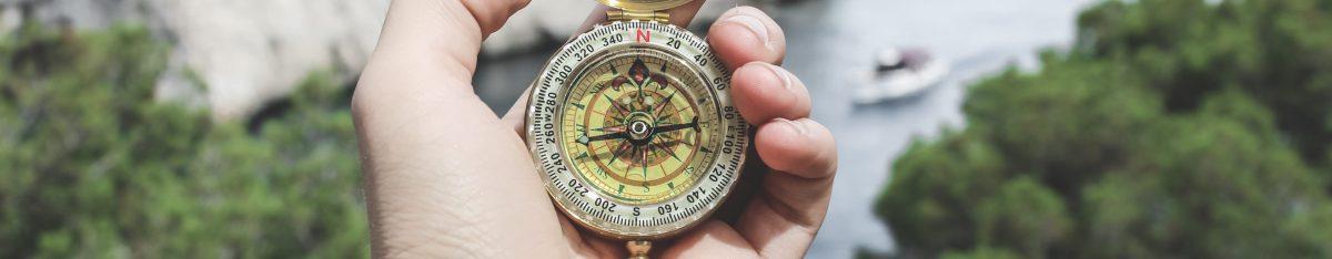 A compass proving guiding principles