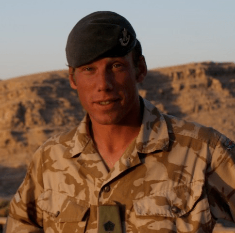 Maj Colin Oliver, author of 'Southgate's Leadership' article