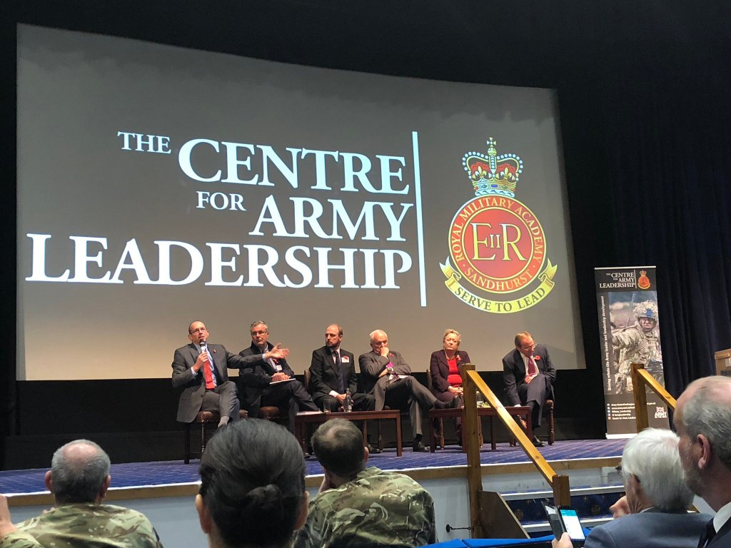 Leading Through Change Panel Centre for Army Leadership