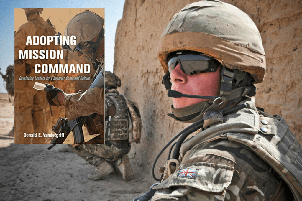 Adopting Mission Command - a soldier in Afghanistan