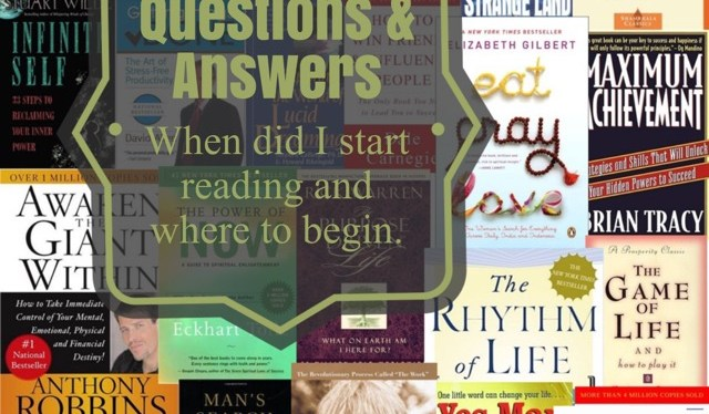 Questions & Answer: When Did I Start Reading