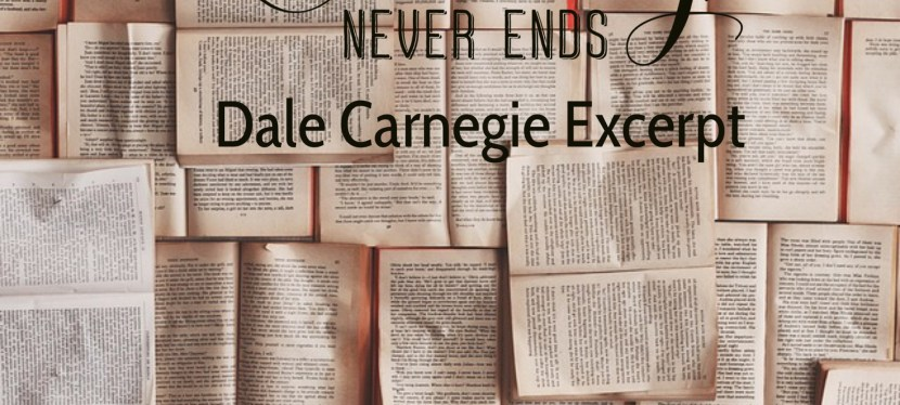 Some Stories On How You Can Conquer Worry – Dale Carnegie Excerpt