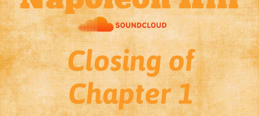 Napoleon Hill: Closing of Chapter 1