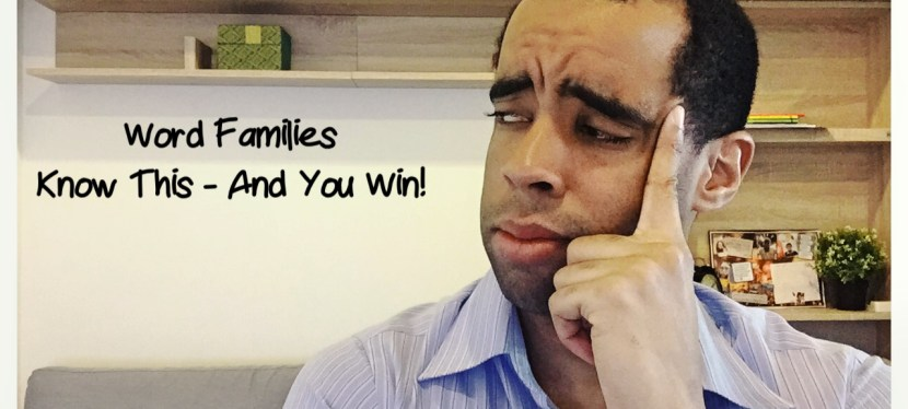 TOEIC: Grammar – Word Families (Know This & You Can Dominate The Grammar Section)
