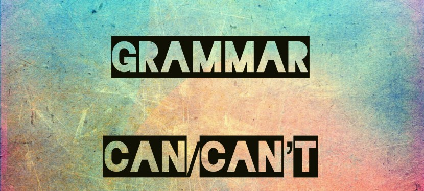 Arsenio's ESL Podcast: Episode 42 – Grammar – Can/Can't