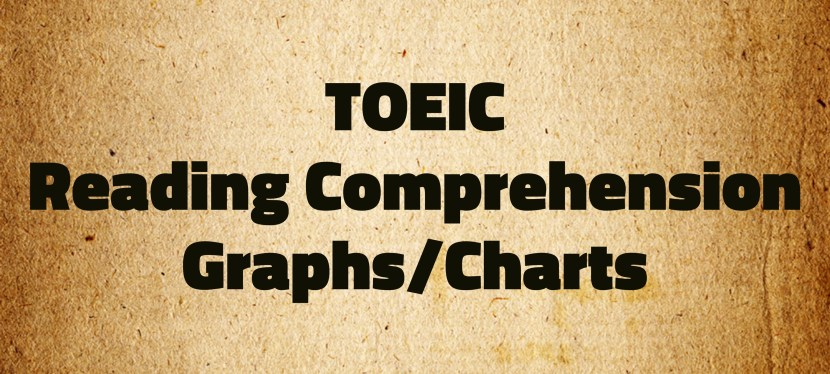 Arsenio's ESL Podcast: Special – TOEIC – Reading Comprehension – Graphs + Podcast/YouTube