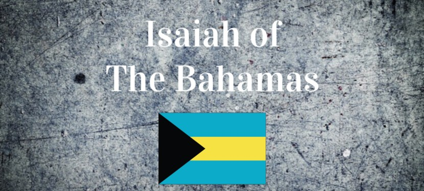 International Guest Speaker | Isaiah of the Bahamas | Impact is Legacy