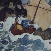 Alice Shea, Age 15 Watercolor after E. Dulac