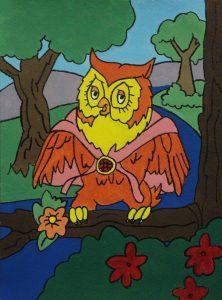 Owl by Alyssa Wilhelm, Age 8
