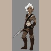 Lilliah Baker, Instructor, Character Design