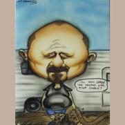 "Sam Petersen, Instructor, ""Caricature"""
