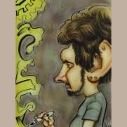 "Sam Petersen, Instructor, ""Self Portrait"""