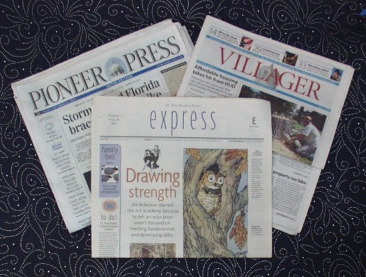 Pioneer Press and Villager Newspapers