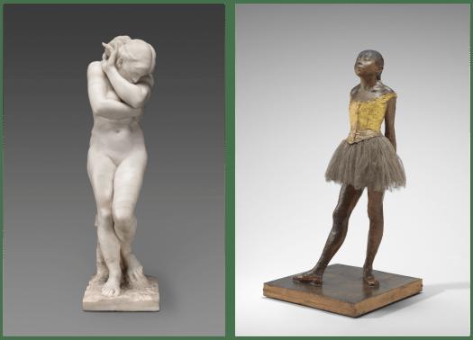 Rodin and Degas