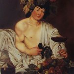 Oil Painting after Caravaggio